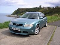 1999S AUDI A6 2.4 SE V6 30 VALVE 165 BHP 5 SPEED MANUAL FULL SERVICE HISTORY EXCEPTIONAL CONDITION