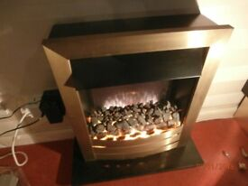 'Trident' brand Electric Coal flame-effect Fire with thermostatic control