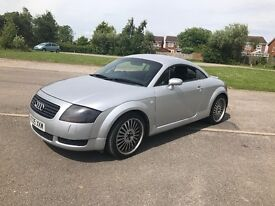 Audi TT 225 nice little car may swap cash up or down