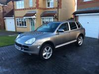 ☑️🇧🇪PORSCHE CAYENNE-S SWAP PX? 4.5 V8 AUTO 120k FSH SAT-NAV DRIVES UNREAL! MAY PX-SWAP?