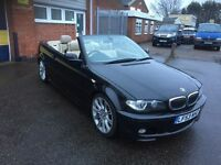 2003 bmw 330 ci m-sport auto convertible 12 months mot/3 months parts and labour warranty