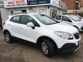 Stunning White Vauxhall Mokka S 1600 Petrol with Air Cond, 12 months MOT, 2 OWNERS, FSH