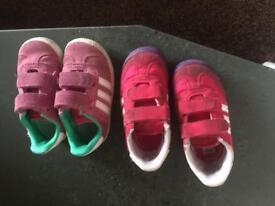 Infant trainers bundle size 6. Bargain £12