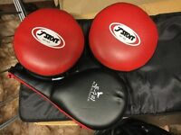 Punch and kick training pads