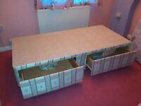 Single divan bed frame