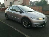"HONDA CIVIC SE I-VTEC 1.4 PETROL 2011 32K FSH CHAIN ENGINE MP3/CD/AUX 17"" ALLOYS"