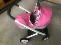 Quinny dolls baby buggy