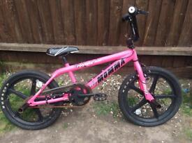 Girls Pink Big Momma BMX Skyway Model