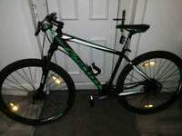 Man's Scott aspect mountain bike