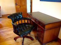 Antique Captains Desk / Chair