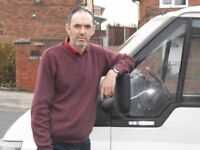 Reliable man with a van service ... available 24/7 contact David for a free no obligation quote