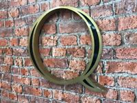 39cm High Metal Signage Letters - Price per Letter