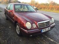 Mercedes e230 petrol mot ideal export