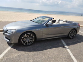 Bmw 640i convertible Fsh/Brand new tyres/High spec