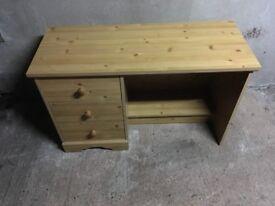 3 Drawer Dressing table no stool .