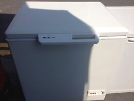 MIELE CHEST FREEZER 90cm WIDE EXCELLENT CONDITION FREE DELIVERY AND WARRANTY