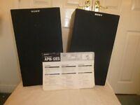 Pair Sony APM-12ES Speakers