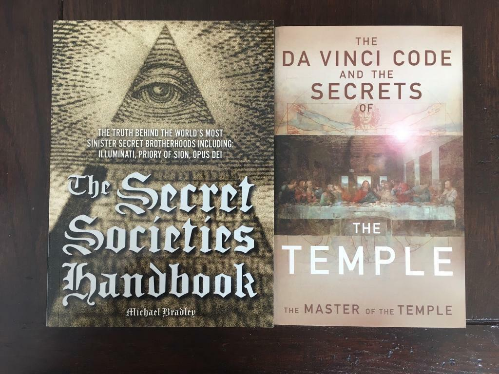 2 books about the Secret Societies in excellent condition | in Hammersmith,  London | Gumtree