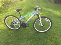 Girls Mountain Bike Carrera Luna - Hard Tail - Disc brakes - Good condition £40 ONO