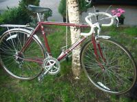 Vintage Raleigh racer/touring bike.