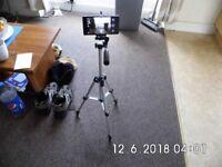 3 way Camera tripod