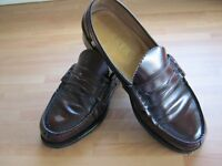 Gents Barker of England Loafers All Leather size 7.5