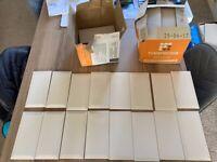 80 cream ceramic tiles