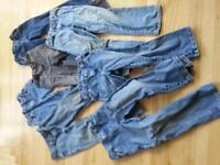7 Pairs of Boys Size 7 Jeans
