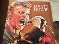 In Memory of David Bowie limited edition vinyl