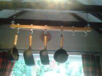 Suspended ceiling pan rack