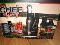 CHEF TOY'S T-MIX HAND HELD FOOD PROCESSOR