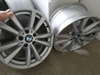 """Bmw 18"""" x120 gebuine alloy wheels"""
