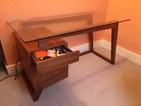 Dwell - Poise walnut desk (discontinued item) Excellent condition. Pickup only