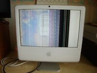 Apple iMac G5 17 inch Model A1208 For Spares or Repair
