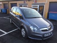 2006 Vauxhall Zafira 1.9 Cdti 7 seater 12 months mot/3 months parts and labour warranty