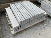 Round Top Concrete Path Edging/ Kerbs / Borders ~ New