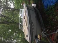 Grew 17 foot boat with trailer