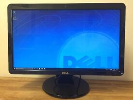 """DELL 23"""" Ultra HD Monitor with WEBCAM , Microphone , Speakers , USB , HDMI , DVI ,"""