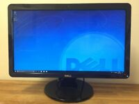 "DELL 23"" Ultra HD Monitor with WEBCAM , Microphone , Speakers , USB , HDMI , DVI ,"
