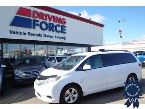 2015 Toyota Sienna LE - FWD, 3.5L V6, CD/MP3 Player, 30,658 KMs
