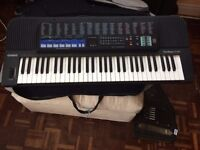Casio CT-670 Tonebank Keyboard hardly used works perfectly Travel case/protective cover included