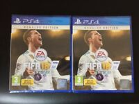 SONY PLAYSTATION 4 FIFA 18 - RONALDO EDITION -FOR SALE - BRAND NEWS AND SEALED PS4