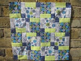 Patchwork Sewing Class- disappearing nine patch.