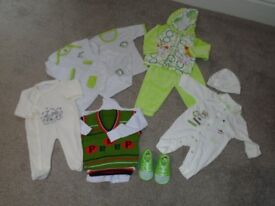 NEW BUNDLE BABY BOY CLOTHES 3/6 MONTHS