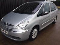 2005 Citroen Xsara Picasso 2.0 HDi Exclusive 5dr Diesel 1 Month Warranty, 12 Months MOT, May PX