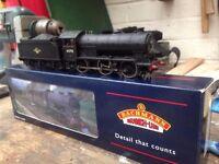 Bachmann J39 Black late crest steam engine, with decoder