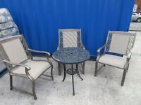 M&S 3 CHAIRS AND TABLE SET ONLY £60!! BEAUTIFUL...PICK UP TODAY!