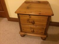 bedside table solid wood BELFAST NEWCASTLE can deliver if needed bedroom livingroom occasional table