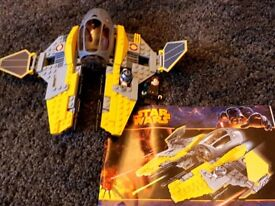 Lego Star Wars Jedi Interceptor