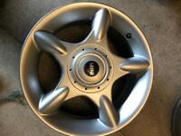Mini alloy wheel